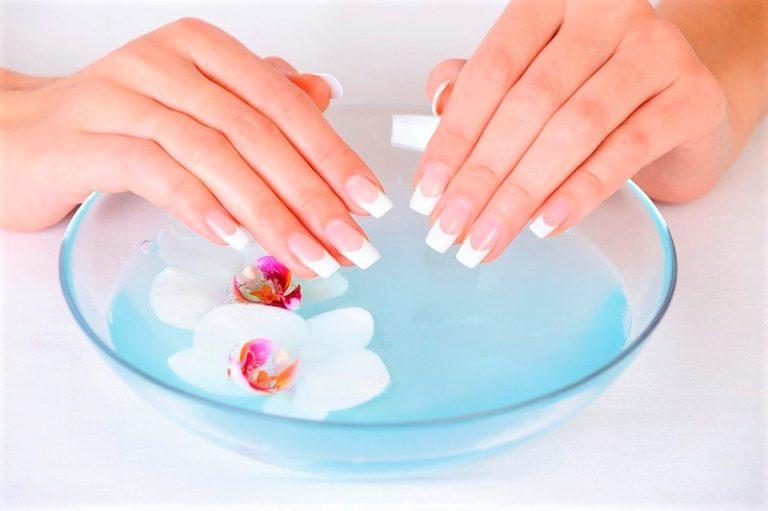 Укрепление ногтей в домашних условиях с солью 286