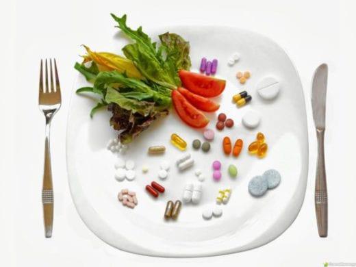 витамины и зелень