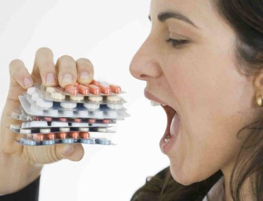 молочница на фоне приёма антибиотиков
