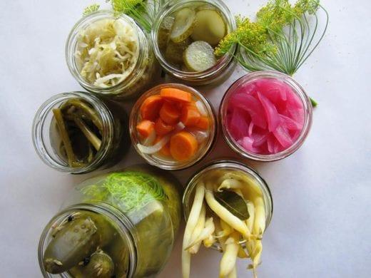 квашенные овощи