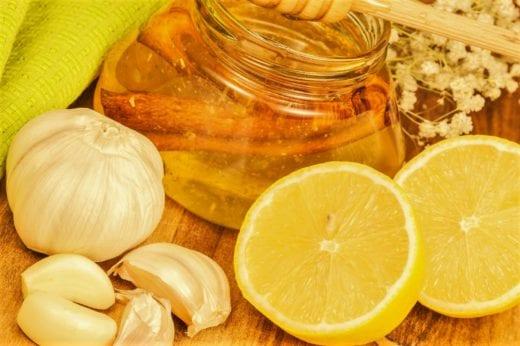 чеснок-лимон-мед