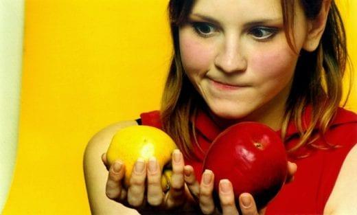 выбор фрукта