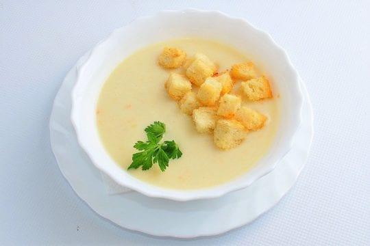 Крем-суп из овощей на бульоне