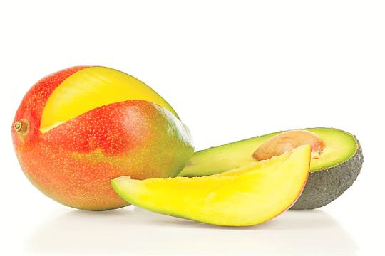 авокадо манго