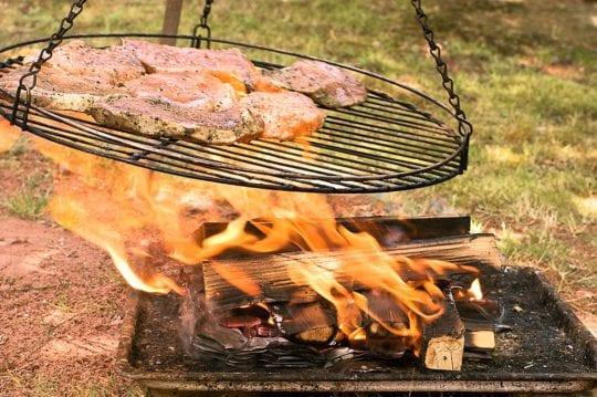готовить рыбу и мясо