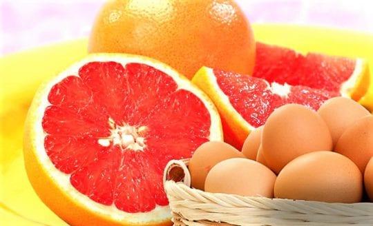 грейпфрутовая диета с яйцом