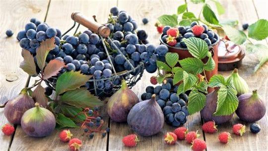 инжир виноград