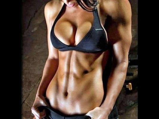 красивое спортивное тело