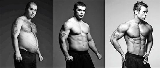 поэтапно спортивное тело