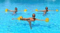 Самые эффективные упражнения в воде для похудения