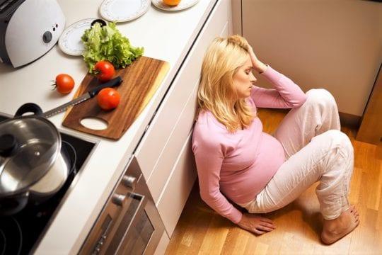 беременная в депрессии