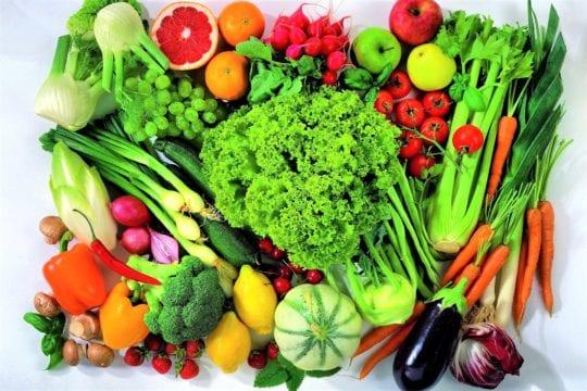 клетчатка овощи