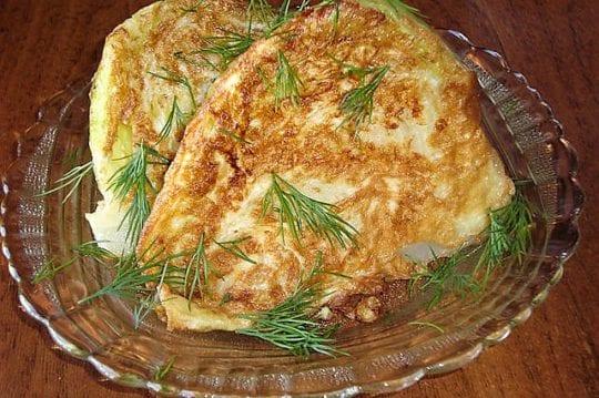 Капуста в яйце