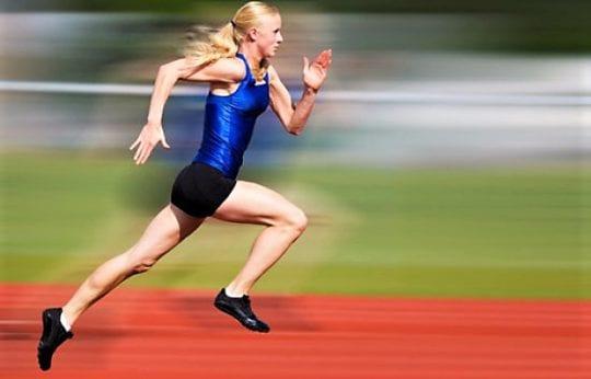 бег и ускорение