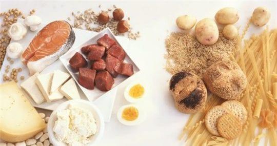 белково–углеводное чередование