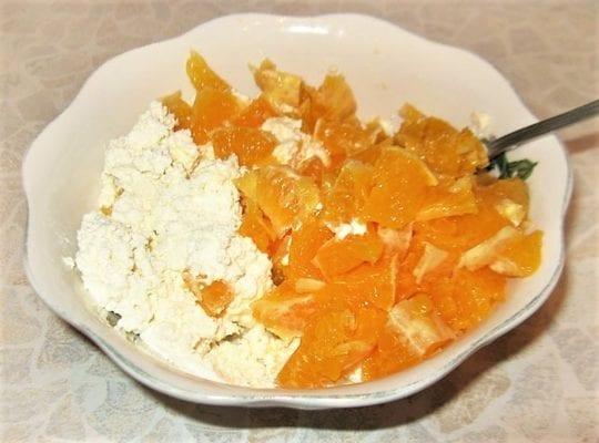 Апельсиново-творожная диета