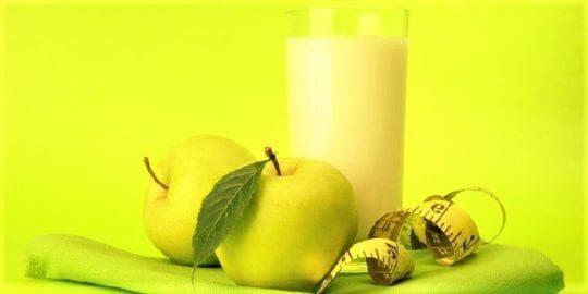 Диета на кефире и яблоках: меню на 3; 7 и 9 дней