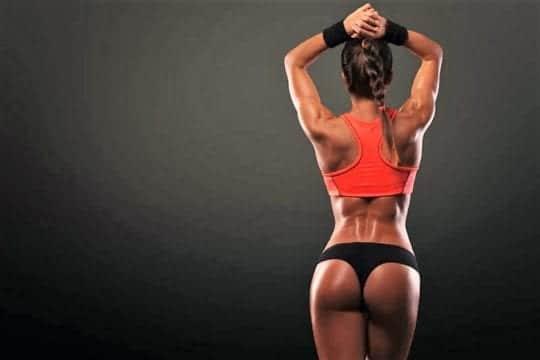 красивая спортивная девушка