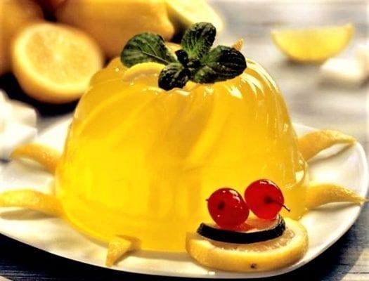 лимонные десерты, соки