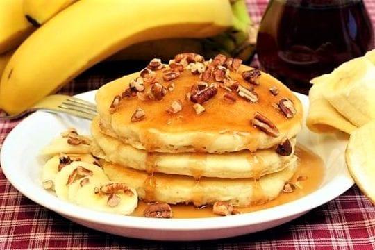 Блинчики из бананов