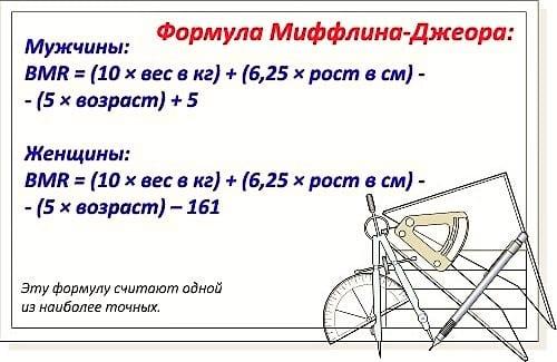 Маффин Джеор и его формула