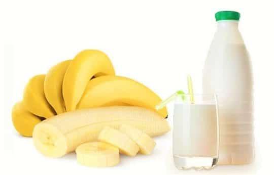 банановая диета с молочными продуктами