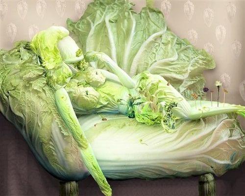 капустная женщина