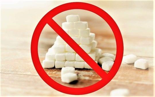 запрет на сахар