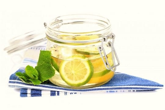 Лимонный лосьон