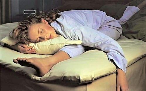 Неправильная поза во время сна