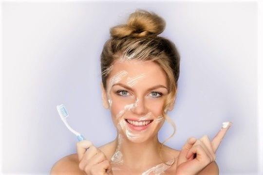 зубную пасту от угрей