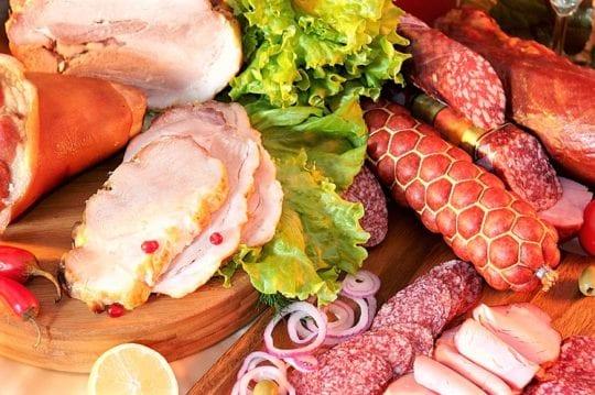 Полуфабрикаты, колбасы