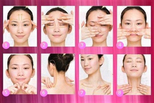 Китайский массаж от морщин