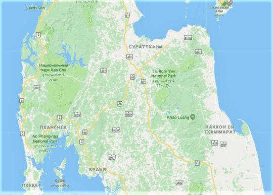 Карта Као Сок