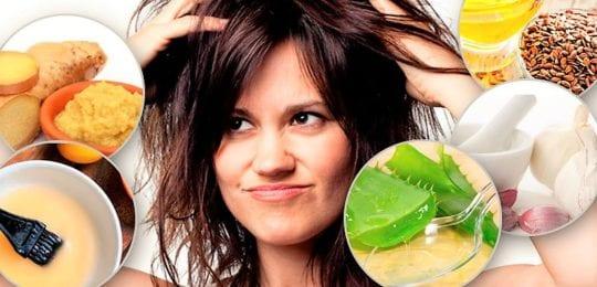 Маска для волос от перхоти: избавляемся от зуда быстро и за 1 день