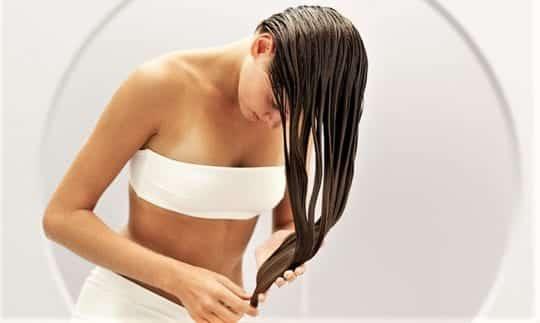 Мытьё и ополаскивание волос