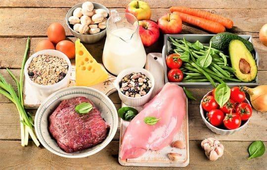 Правильное питание: основные принципы и таблица продуктов